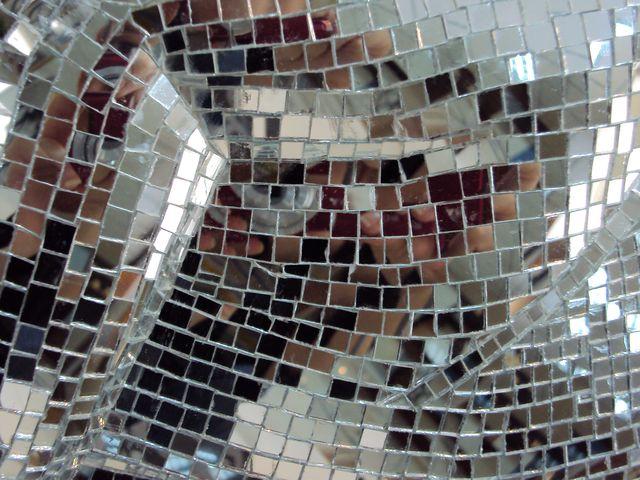 зеркальная мозаика в пантере