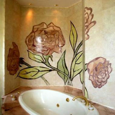 ванная Розы